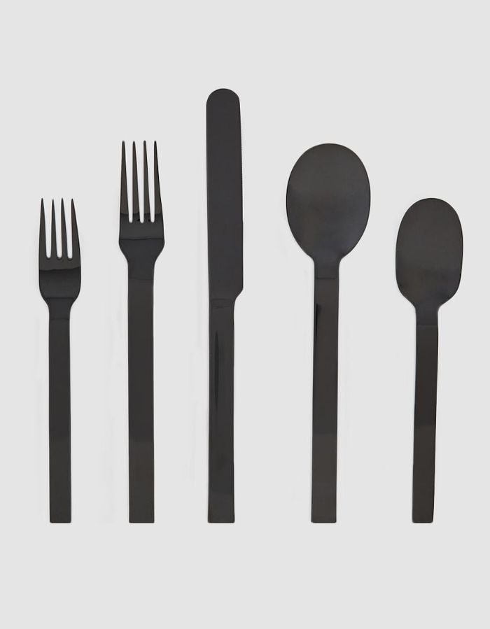 5 Piece Place Setting in Black