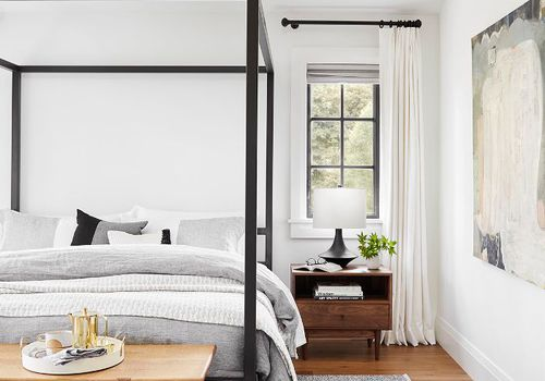 Master bedroom design—Emily Henderson