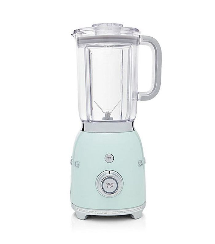 Crate and Barrel Smeg Pastel Green Retro Blender