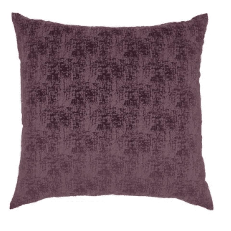 Erased velvet throw pillow