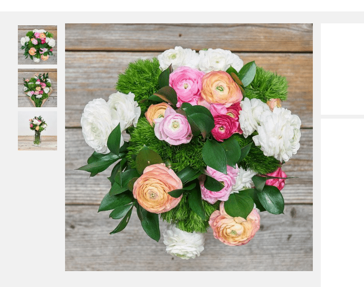 Pink and Pearl Bouqs bouquet