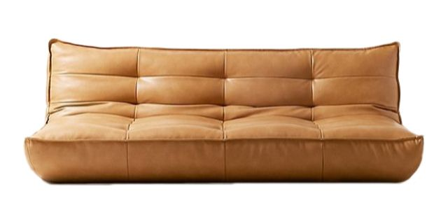greta recycled leather sleeper sofa urban outfitters