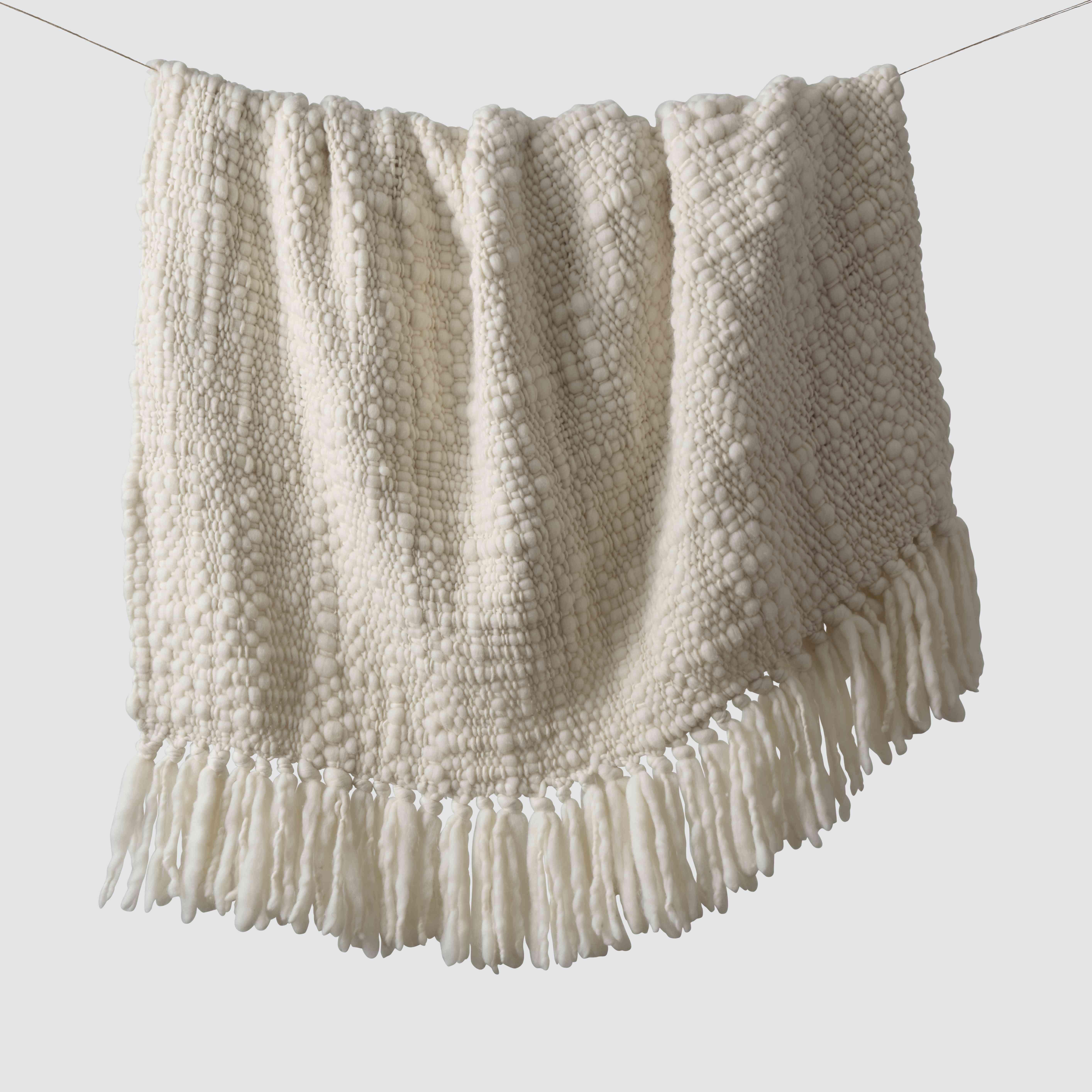 Clara Chunky Wool Throw