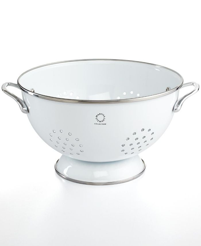 Enamel on Steel 5 Qt. White Colander, Created for Macy's