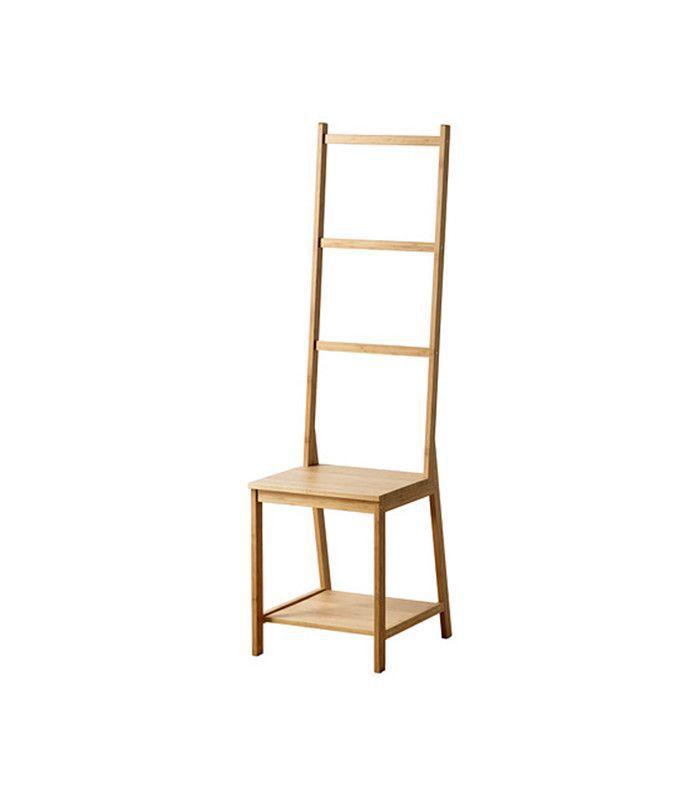 IKEA Ragrund Chair With Towel Rack