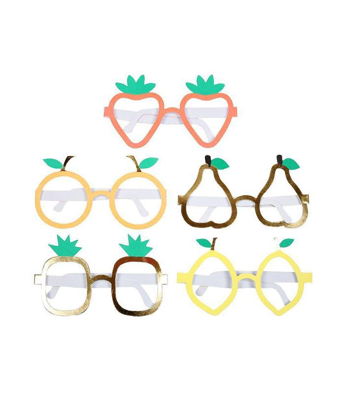 Witty Bash Fruit Glasses
