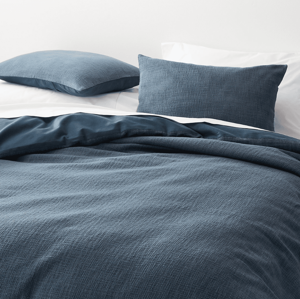Lindstrom Blue Full/Queen Duvet Cover