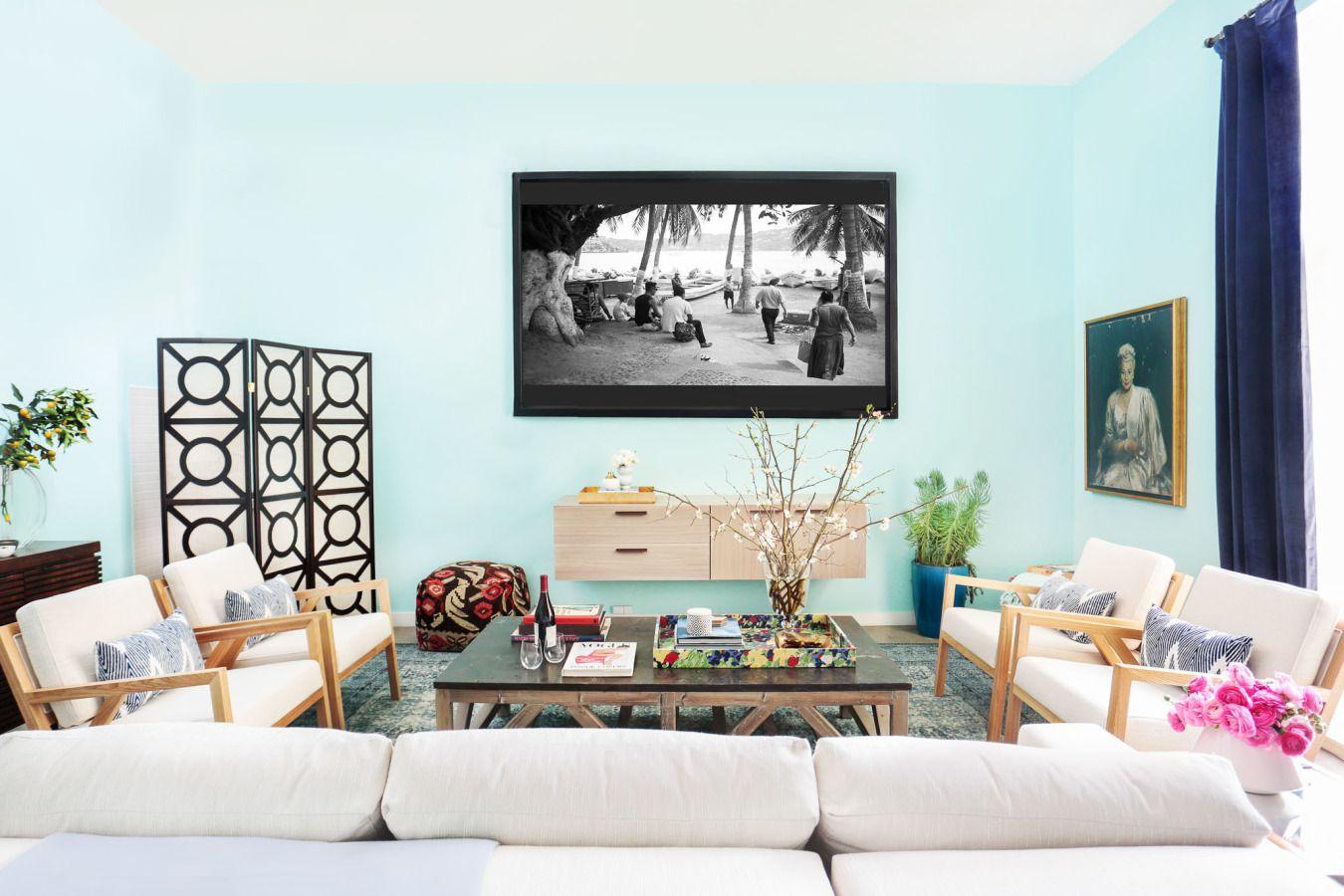 Whitney Port—family room