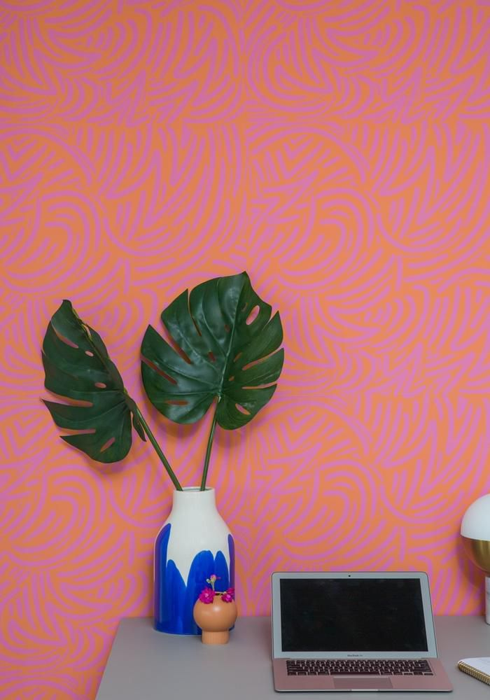 Whirling—Removable Wallpaper