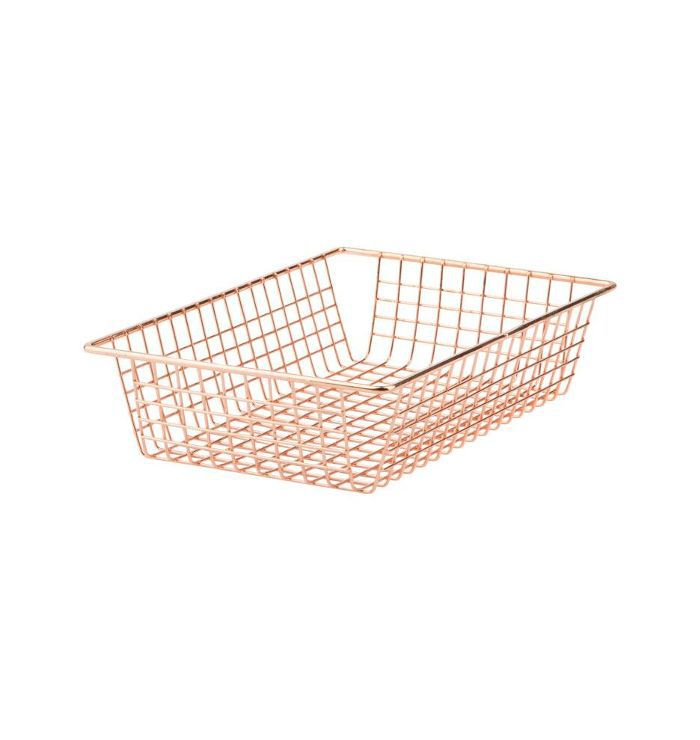Rejuvenation Copper Wire Organizer Tray - Small