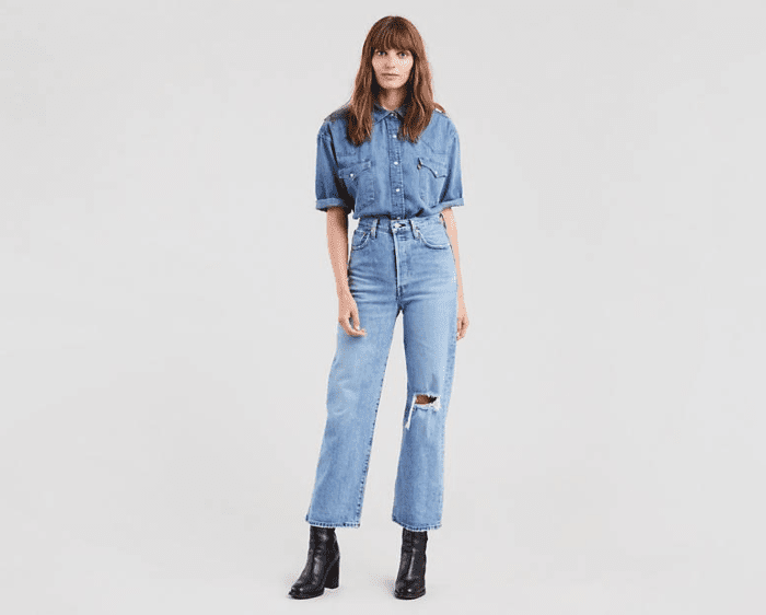 Levi's Ribcage Straight Jeans