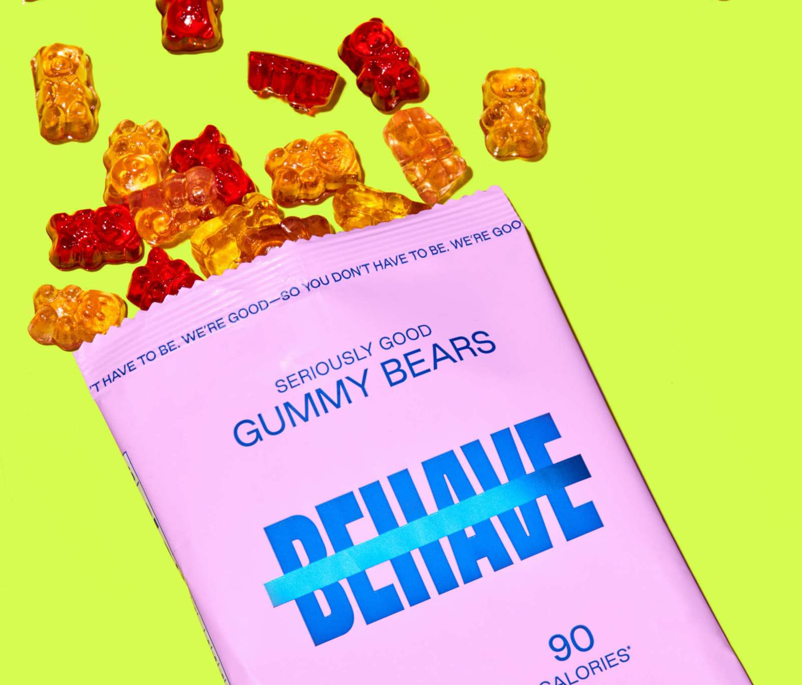 Behave Seriously Good Gummy Bears
