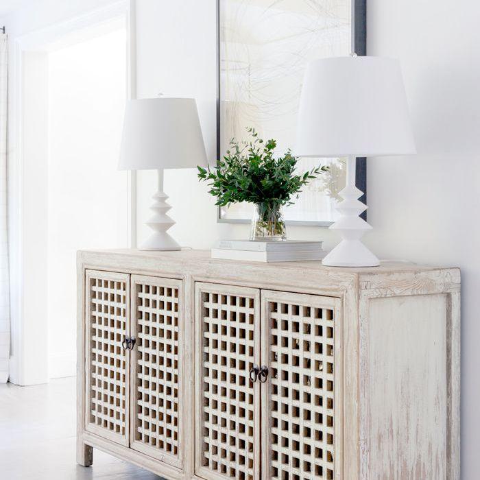 simple design storage cabinet