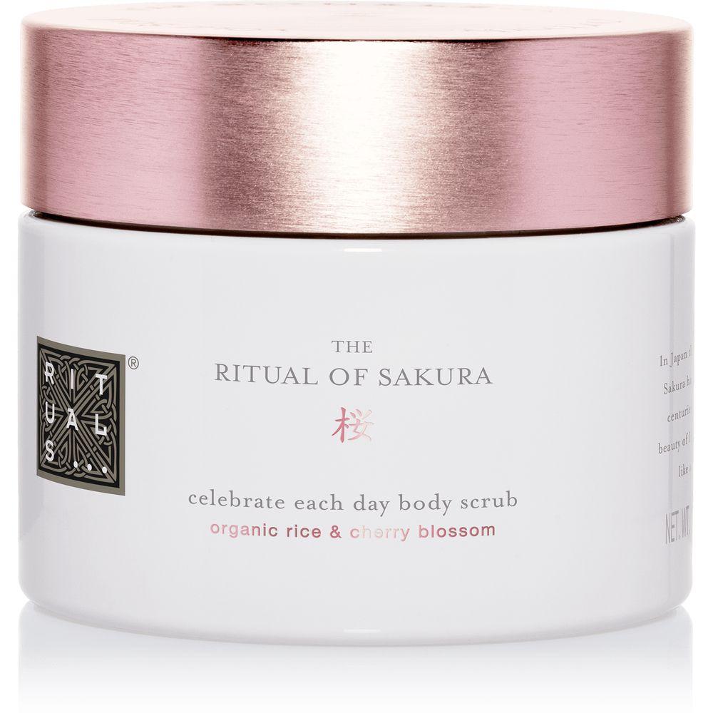 ritual de sakura celebra cada día exfoliación corporal