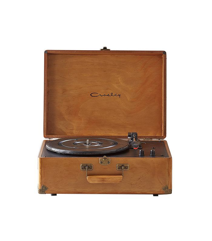 Crosley X UO Keepsake Wood Portable USB Vinyl Record Player