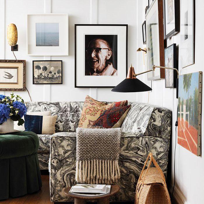 Sala de estar de la casa de Devin Kirk Chad Idol