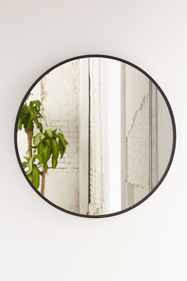 Umbra Oversized Hub Mirror - Black One Size at Urban Outfitters