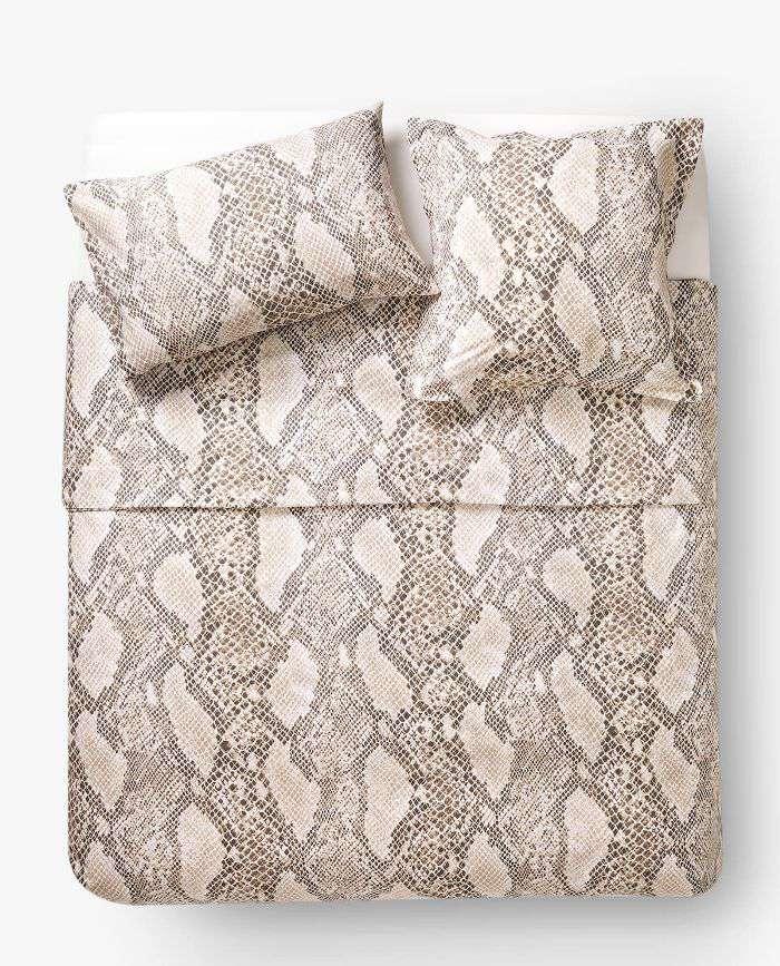 Zara Home Snake Print Duvet Cover