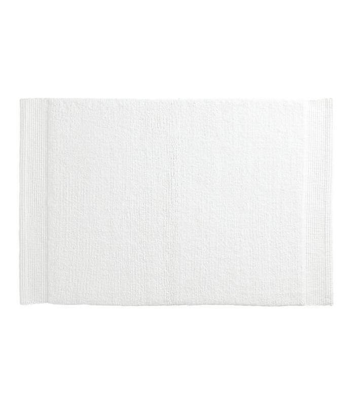 Alfombra de baño CB2 Surface White