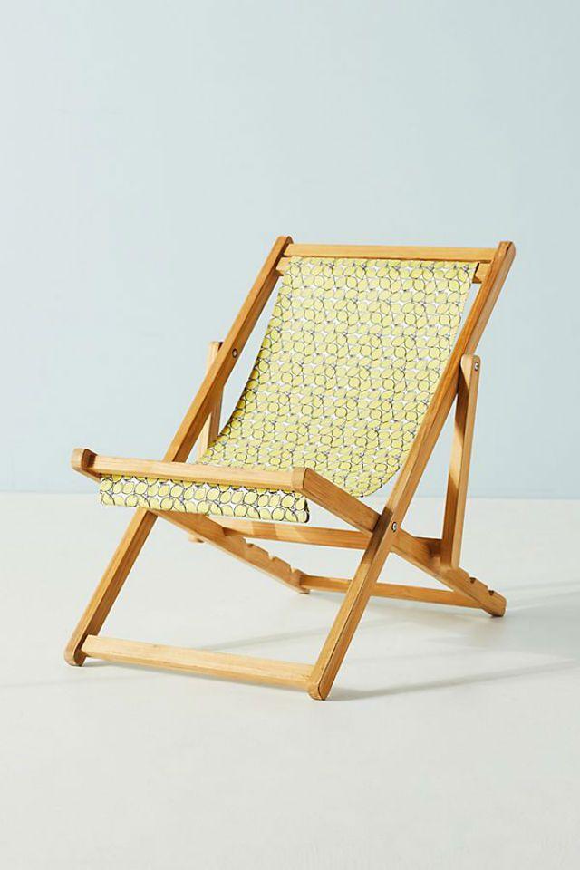 Colloquial Beach Chair