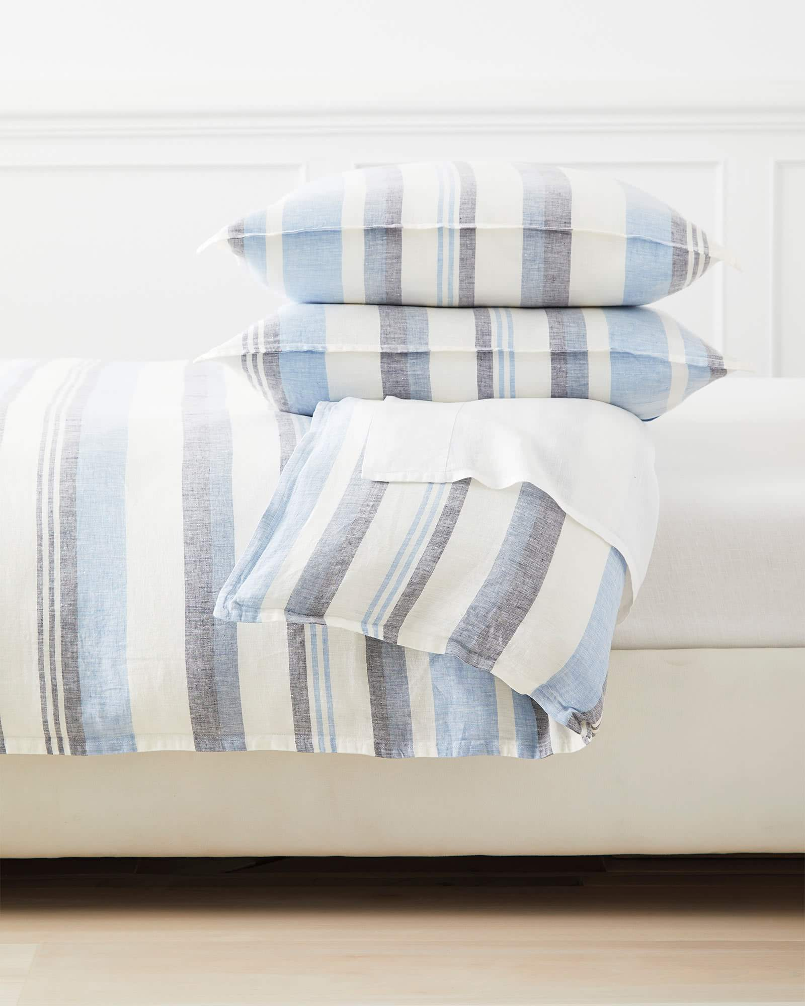 Seabright Linen Duvet Cover