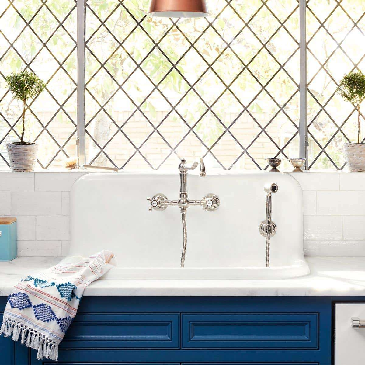 A farmhouse kitchen sink, currently for sale at Vintage Tub & Bath
