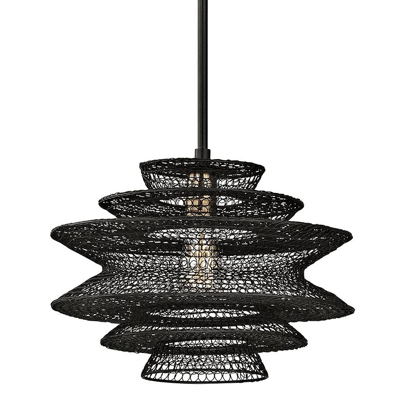 Kokoro pendant light black