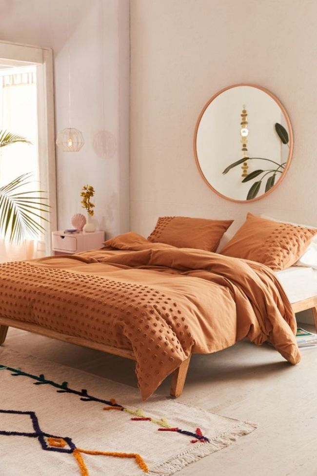 urban outfitters Tufted Dot Duvet Cover