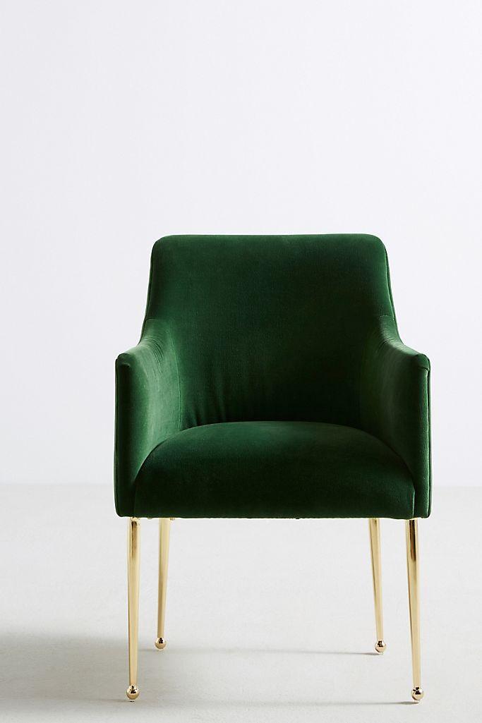 Velvet Elowen Armchair