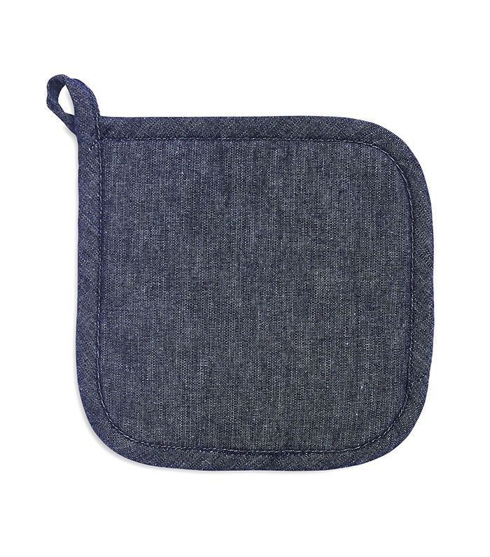 Washed Denim Pot Holder