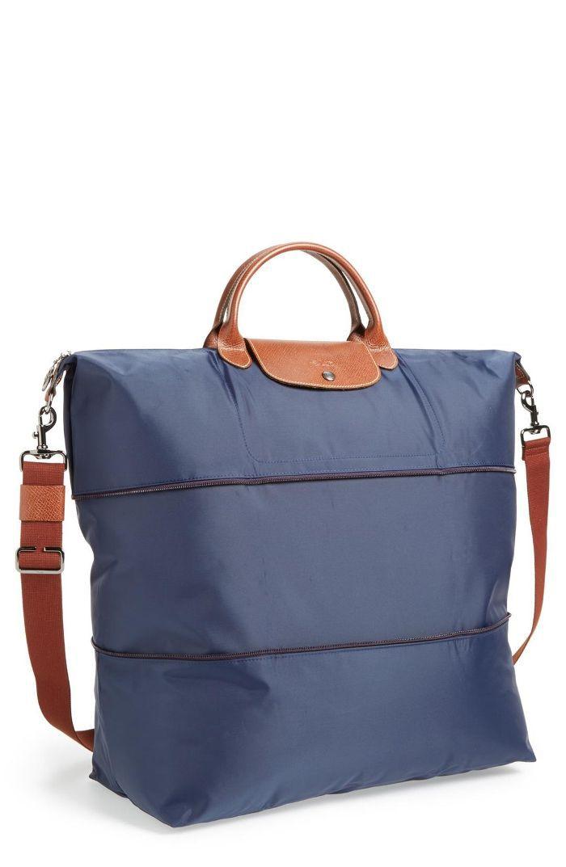 Le Pliage 21-Inch Expandable Travel Bag - Blue