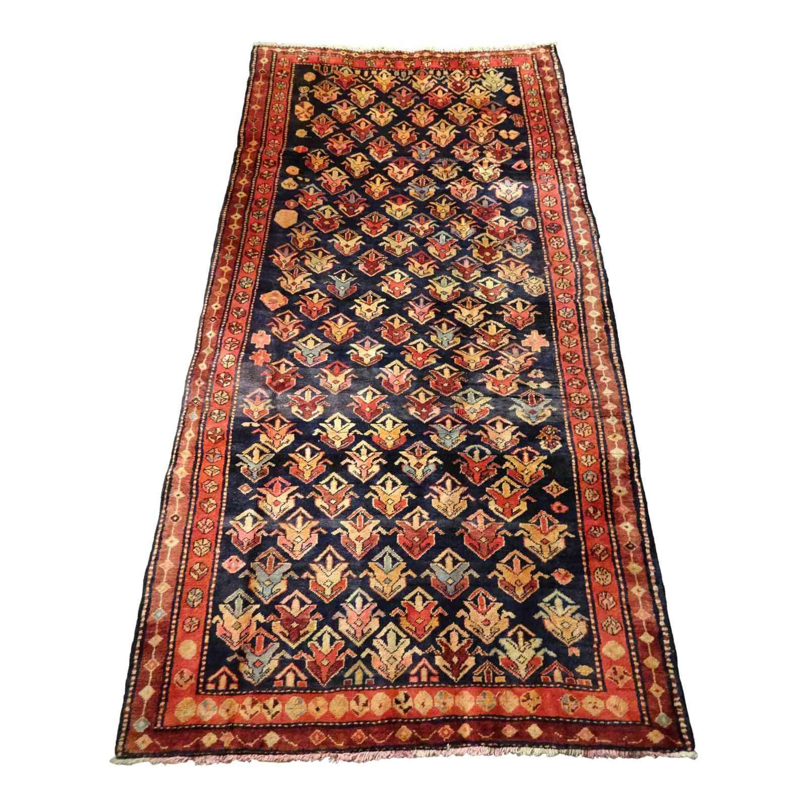 1950s Vintage Seychour Persian Rug