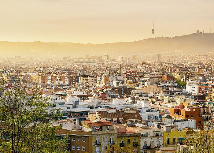 Lugares de vacaciones españoles: Barcelona