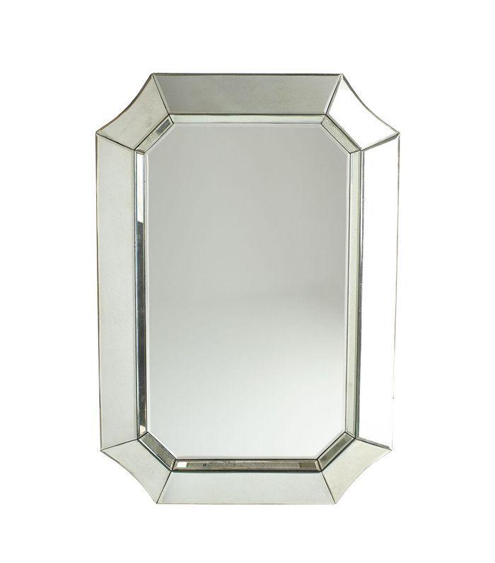 Wisteria Flared Octagon Mirror