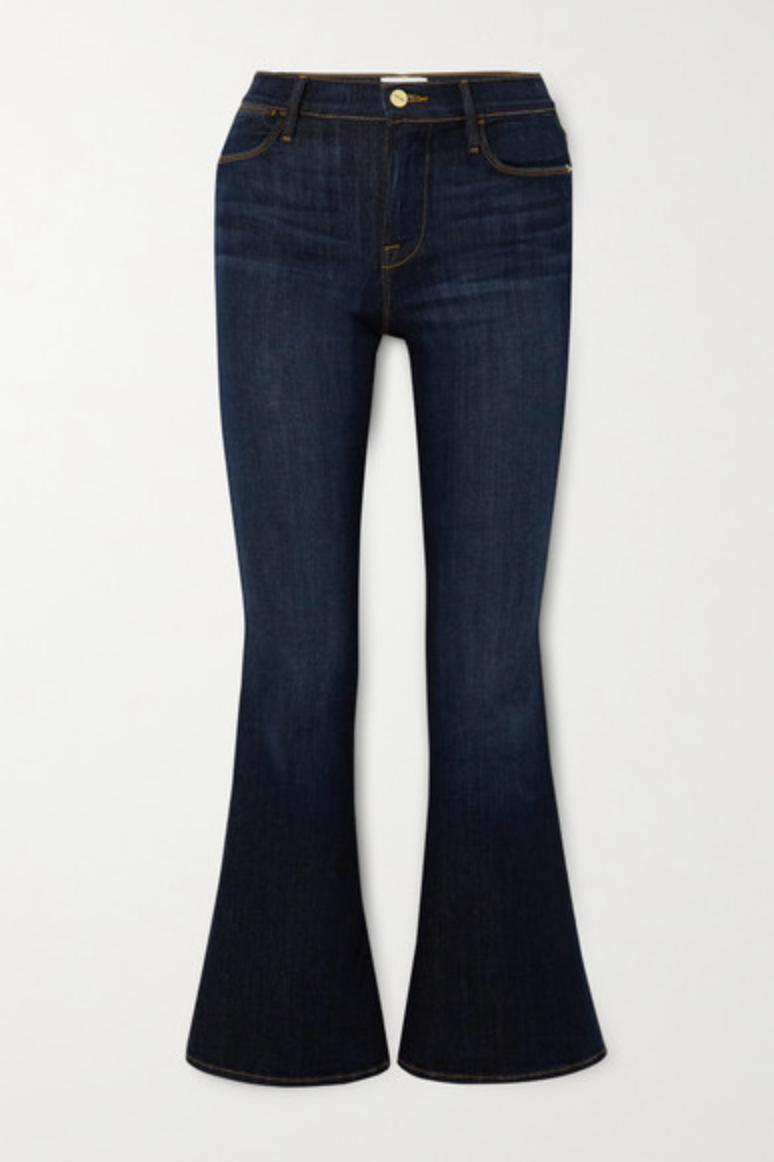 Jeans acampanados de tiro alto Le Pixie