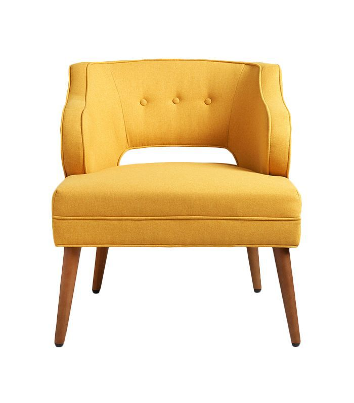 French Yellow Tyley Chair by World Market
