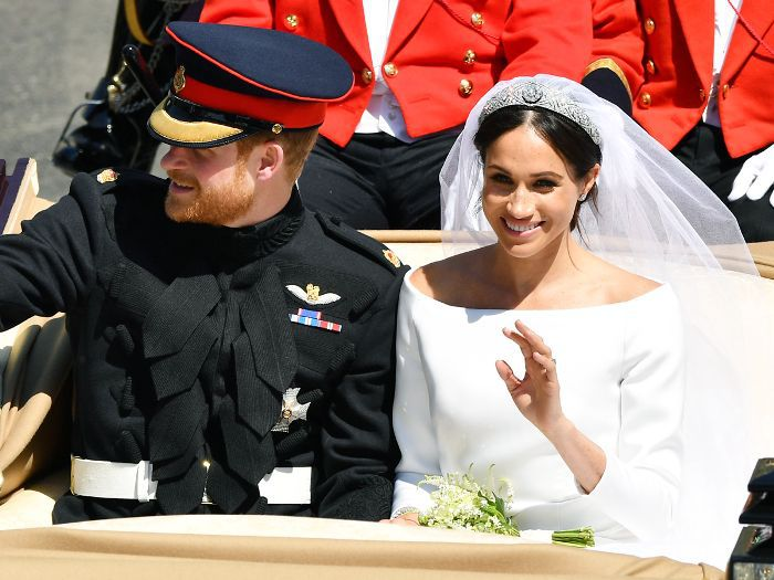 32724ea47fbb7 All the Details On Meghan Markle's Givenchy Wedding Dress