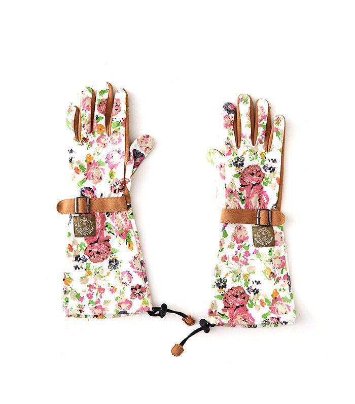 Terrain Floral Twill Garden Gloves