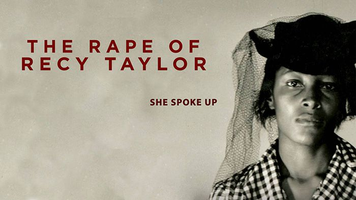 The Rape of Recy Taylor documentary poster