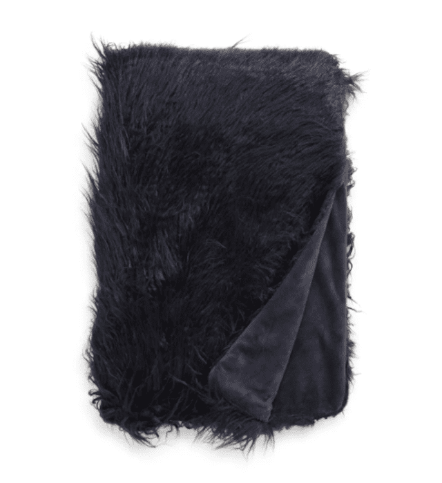 Nordstrom Mongolian Faux Fur Throw Blanket