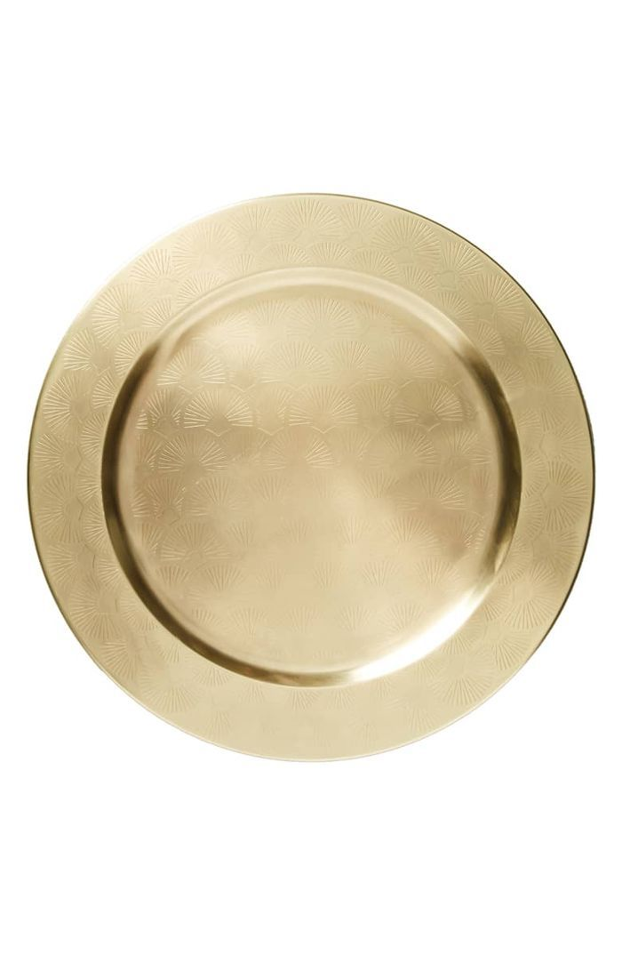 Anthropologie Elysees Charger Plate