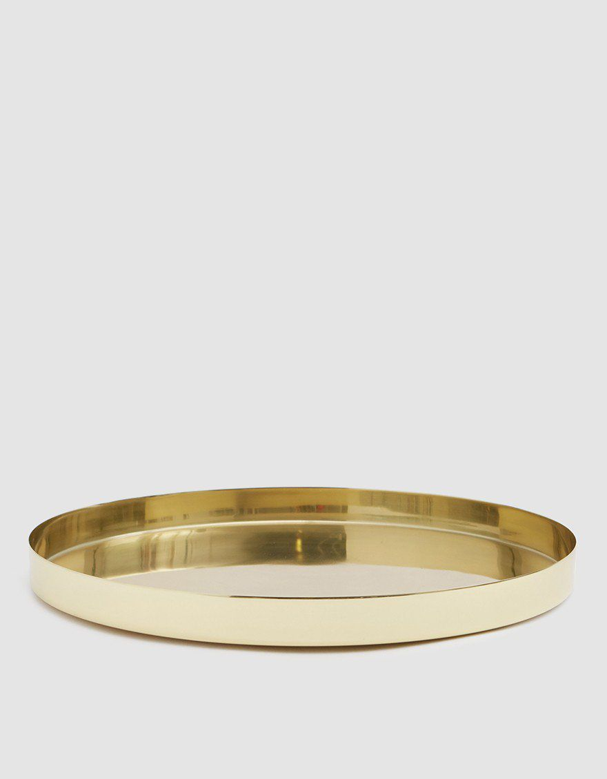Large Louise Brass Tray