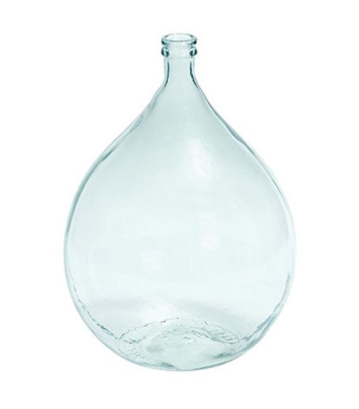 Glass Vase, 17 by 11-Inch