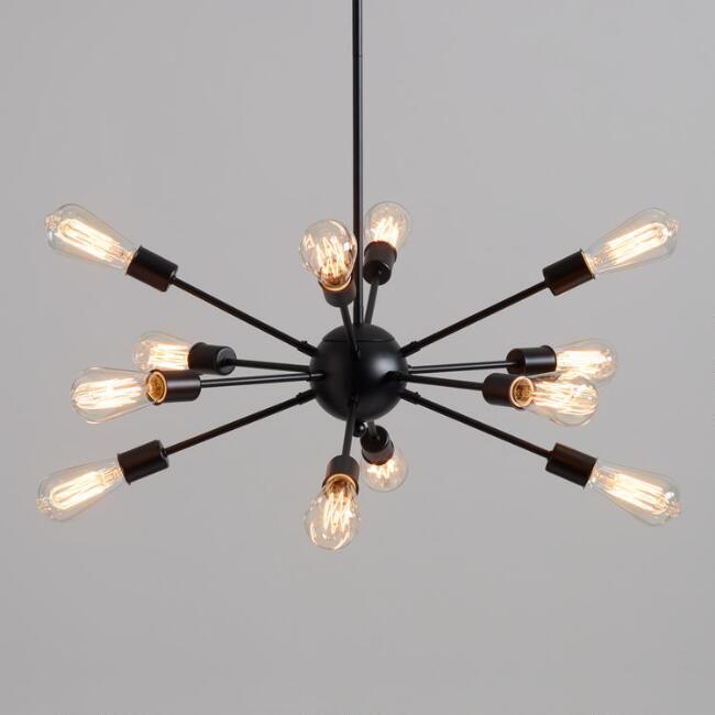 world market sputnik chandelier