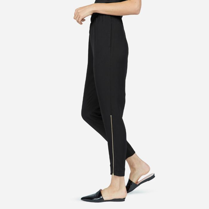 Women's E2 Japanese GoWeave Pant by Everlane in Black, Size 12