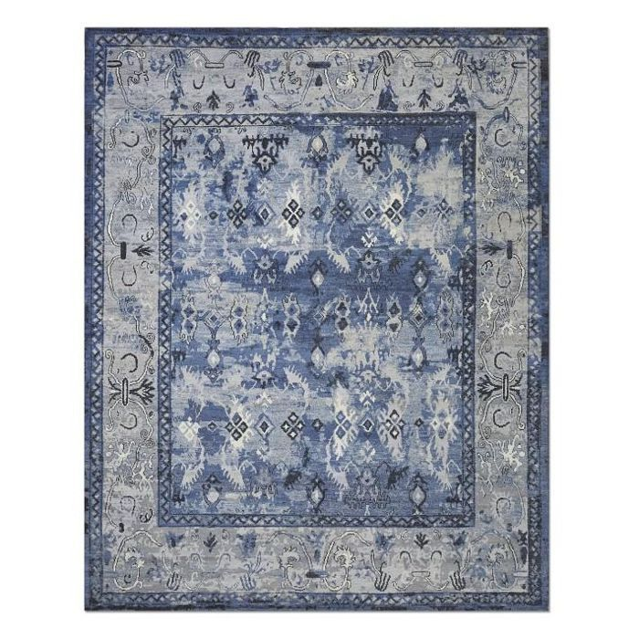 Lapis Hand Knotted Rug