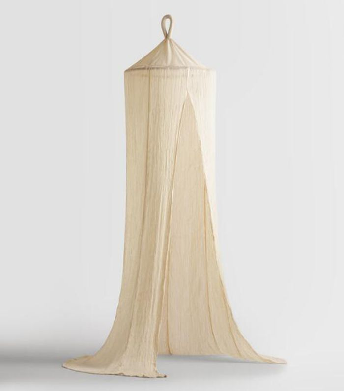 Indian Cotton Gauze Sheer Canopy: Natural by World Market
