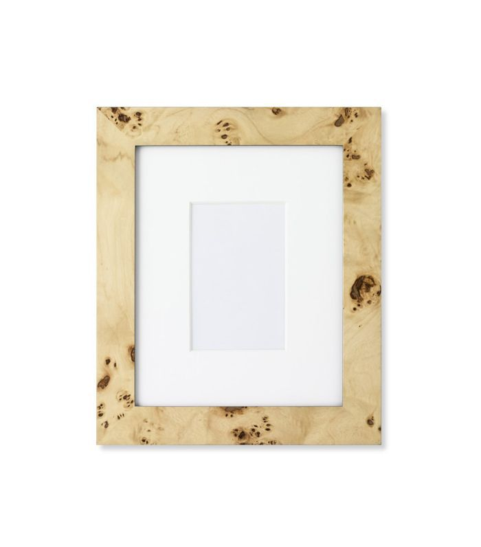 Exotic Burl Wood Gallery Picture Frame
