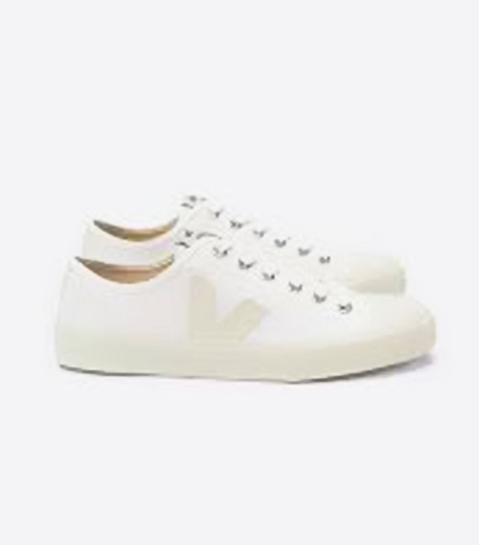 Women's Esplar Leather Sneakers-White Size 5