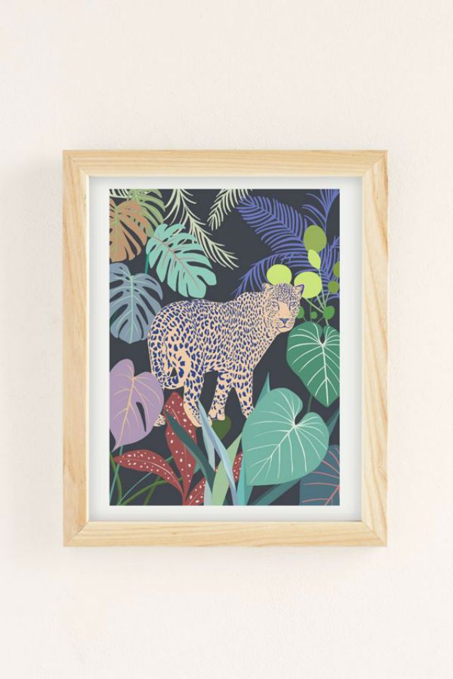 Hello Leopard Art Print